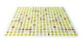 Zak!Designs Smiley 2.0 Snij-& Serveerplank - Glas - 40 x 30 cm - Wit