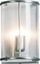 Steinhauer Pimpernel - Wandlamp - 1 lichts - Staal - Snoerschakelaar