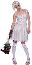 Halloween Bruidsjurk met Tiara Dames S-M