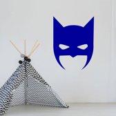 Muursticker Batman -  Donkerblauw -  80 x 104 cm  - Muursticker4Sale