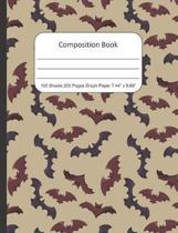Composition Book Graph Paper: Quad Rule (4x4) Graph Paper, Four Squares per Inch Journal Notebook for Math, Science, School, Home or Work