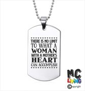 Ketting RVS - A Mothers Heart