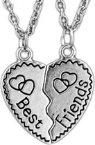 Fako Bijoux® - Vriendschapsketting - Best Friends - Hartjes