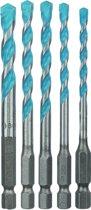 Bosch borenset - 5-delig - HEX-9 Constructie - 2608589530