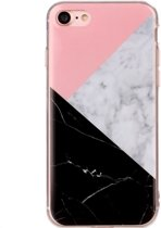 Mobigear Marmer Softcase Hoesje Design iPhone 7 / 8
