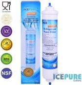 Icepure RFC0300A Koelkast Waterfilter Vervangingspatroon Samsung (EF9603/WSF100/DA29-10105J) - LG (BL9808/3890JC2990A/5231ja2010B) - General Electric (GXRTQR) - Wpro Usc100