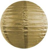 Decoratieve lampion goud 20cm