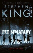 Boek cover Pet Sematary van Stephen King (Onbekend)