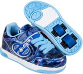 HEELYS X2 PLUS LIGHTED, BLAUW/PAARS