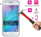 SMH Royal - 2 Stuks Pack Voor Samsung Galaxy J5 2016 Screen Protector Anti barst Tempered glass - Ultra Strong Edition