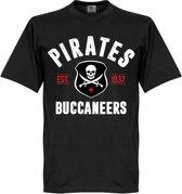 Pirates Established T-Shirt - Zwart - XXXL