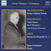 Friedman:Comp.Recordings,Vol.4