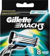 Gillette Mach3 Scheermesjes - 8 Stuks
