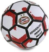 Psv Voetbal Emm Leer Rood/wit/zwart 25 Cm Maat 5