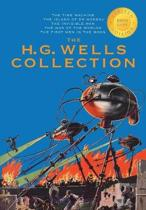 The H. G. Wells Collection (5 Books in 1) The Time Machine, The Island of Doctor Moreau, The Invisible Man, The War of the Worlds, The First Men in the Moon (1000 Copy Limited Edition)