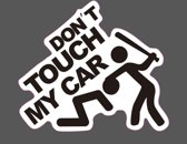 Auto PVC sticker Don't touch my car - NBH®