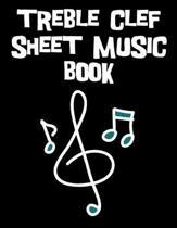 Treble Clef Sheet Music Book