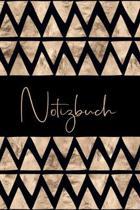 Notizbuch: Elegantes Journal, Blanko liniert zum selbstgestalten
