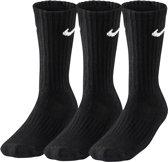 Nike Cotton Cushioned 3-Pack Sokken - Sokken  - zwart - 43-46