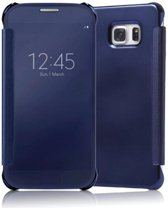 Clear View Cover voor Samsung Galaxy S7 – Donker Blauw
