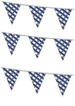 3x stuks vlaggenlijnen Friesland 10 meter