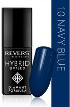 REVERS® Hybrid Nail Polish UV/LED 6ml. #10 Navy Blue