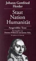 Johann Gottfried Herder: Staat - Nation - Humanität