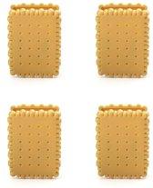 Biscuit vershoudclips (set van 4)