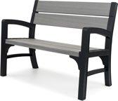 Keter -  Kunststof - WLF - Montero - Bench 2 seater - 2-zits - Graphiet