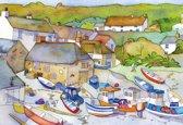 Gibsons puzzel The Fishing Village - Gift Box - 500 stukjes