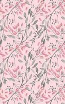 Pink Rose Buds - Blank Notebook - 5