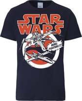 Logoshirt T-Shirt X-Wings - Star Wars