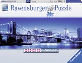 Ravensburger puzzel Verlicht New York - panorama - Legpuzzel - 1000 stukjes