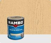 Rambo Deur & Kozijn pantserbeits zijdeglans transparant kleurloos 0000 750 ml