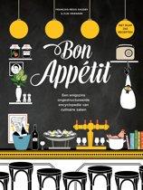 Boek cover Bon appétit. Een enigszins ongestructureerde encyclopedie van culinaire zaken van Francois-Régis Gaudry (Hardcover)
