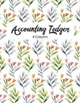 4 Column Accounting Ledger