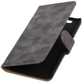 Huawei Nexus 6P Grijs | Lizard bookstyle / book case/ wallet case Hoes  | WN™