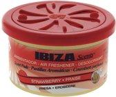 Ibiza Scents Luchtverfrisser Blikje Aarbeien Rood