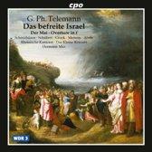 Telemann: Das befreite Israel; Der Mai etc / Hermann Max, Das Kleine Konzert