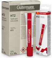 Gütermann Textiellijm HT2 30g. 2 TUBES