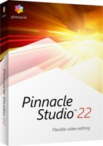 Pinnacle Studio 22 Standard - Nederlands / Engels / Frans - Windows