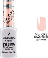 VICTORIA VYNN™ Gel Nagellak - Gel Polish - Pure Creamy Hybrid  - 8 ml - Pinke  - 073