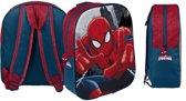 Spiderman 3d rugzak 31cm / close up
