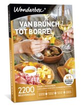 Van Brunch tot Borrel