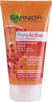 Garnier Skinactive Face Skin Naturals Pure Active Fruity Scrub - 150ml - Scrub