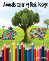 Animals Coloring Book Design