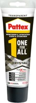 Pattex One for ALL Crystal tube 90 gr
