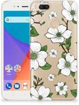 Xiaomi Mi A1 TPU Case Dogwood Flowers