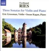 Three Sonatas For Violin And Piano