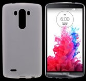 LG Optimus G3 - hoes, cover, case - TPU - transparant